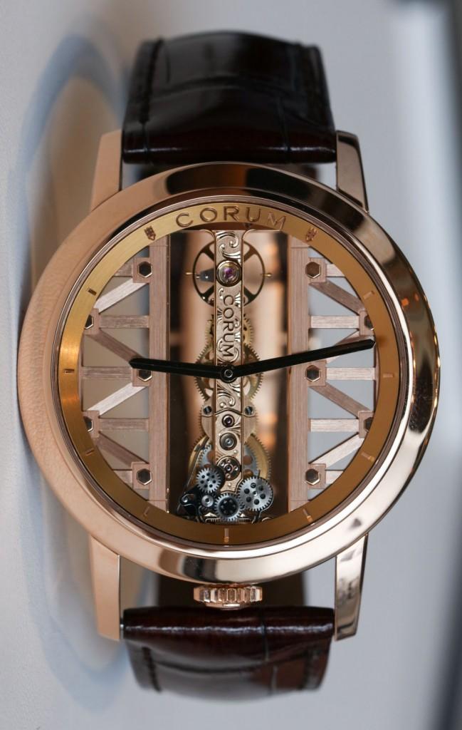 Corum Golden Bridge-Round-watch