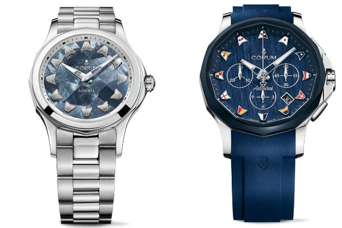 The two Corum could symbolize the eternal love between the couple.