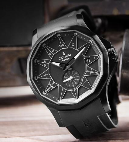 The new Corum presents the brand's innovation and purpose of breaking the tradition.