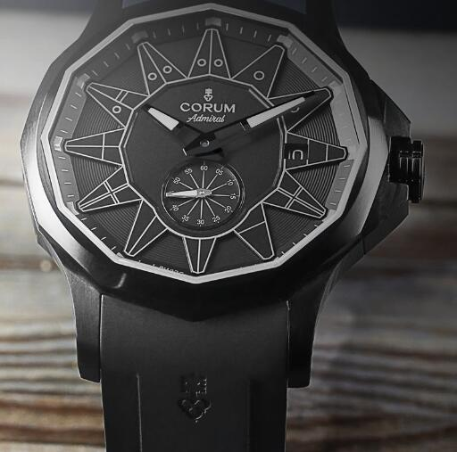 The all-black design makes this timepiece very charming and cool.
