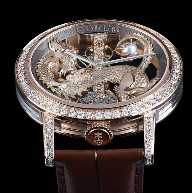 This extraordinary timepiece is inspired by the Chinese culture.