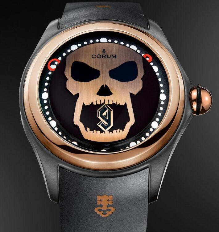 The timepiece is innovative and distinctive.