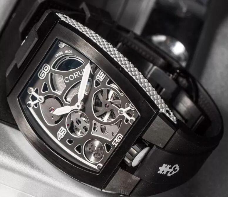 The unique appearance makes this Corum very recognizable.