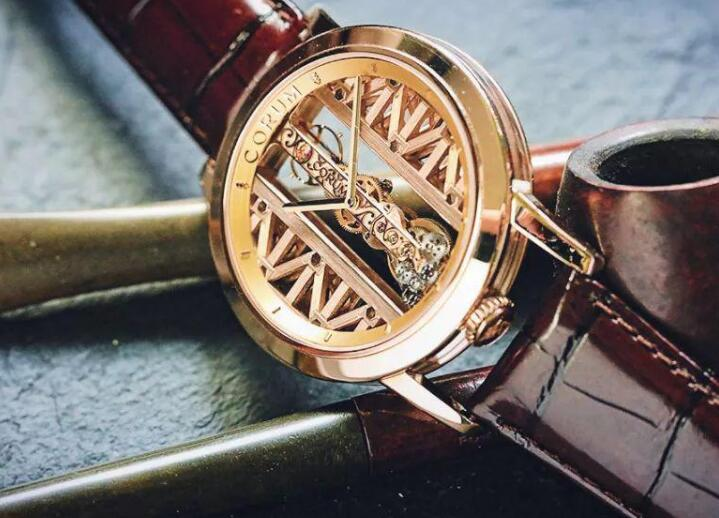 The Golden Bridge allows the wearers to enjoy the beauty of the movement.