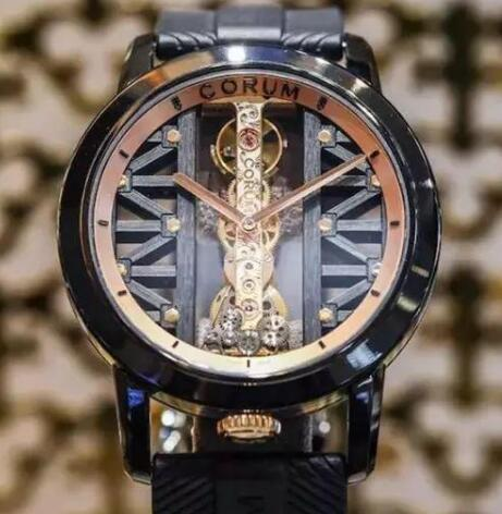 Corum Golden Bridge leaves deep impression on all the watch lovers with its innovation.