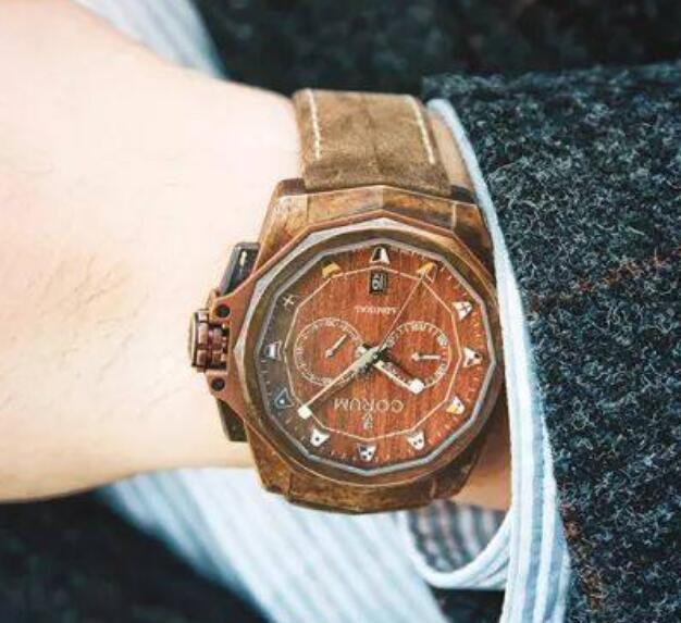 Bronze fake watches become more and more popular now.