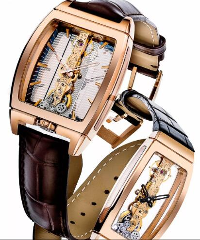 All gold Corum Golden Bridge are innovative and eye-catching.