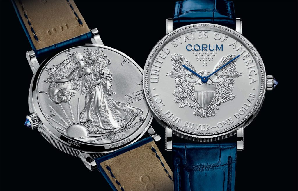 The distinctive tone of these Corum Coin copy watches has attracted numerous watch lovers.